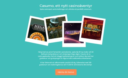 Casumo casinoäventyr