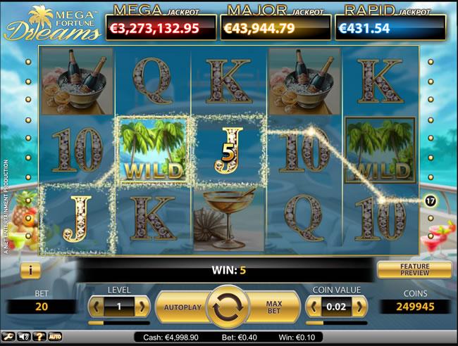 Mega Fortune Dreams - en mycket populär slots