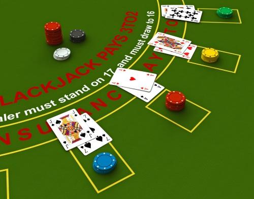 Korträkning i Blackjack
