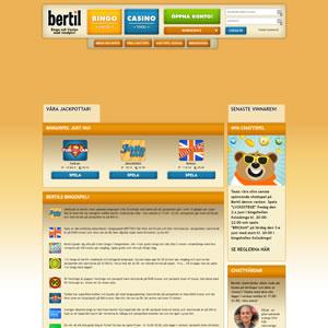 Bingon hos Bertil Bingo