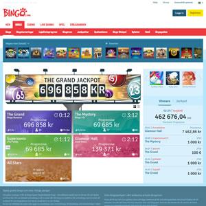 Bingon hos Bingo.com