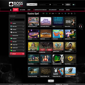 Spelen hos Boss Casino