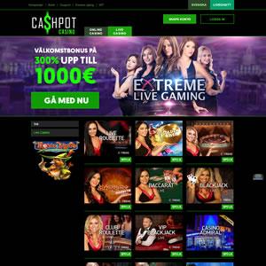 Cashpot Casino Livecasino