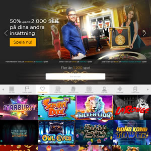 Casinospel hos Casino Cruise