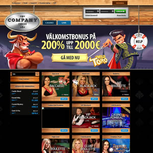 Company Casino  Livecasino