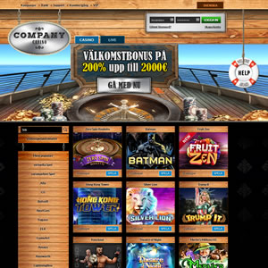 Company Casino  recension