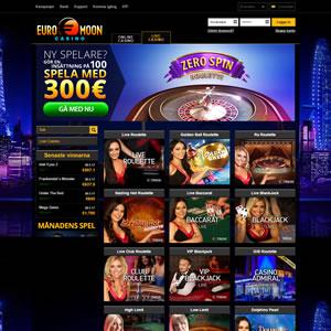 EuroMoon Casino Livecasino