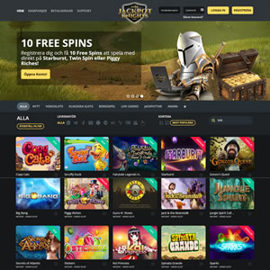 Jackpot Knights casinospel