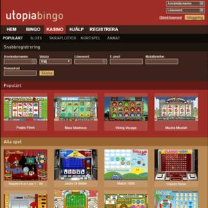 Utopia Bingo  Casino